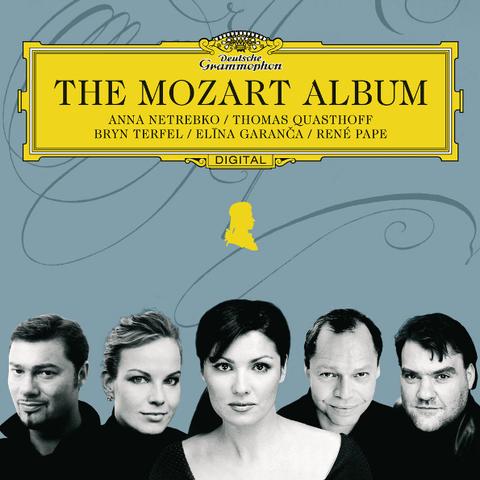 Anna Netrebko, Thomas Quasthoff, Bryn Terfel, Elina Garanca, Rene Pape / The Mozart Album (RU)(CD)
