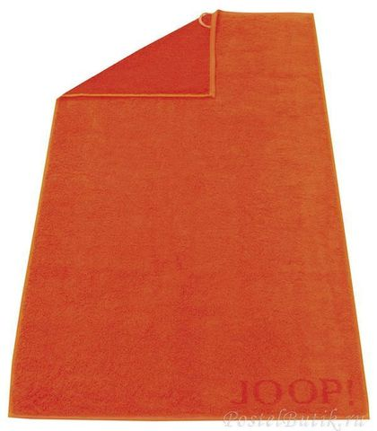 Полотенце 50x100 Cawo-JOOP! Shades Doubleface 1612 оранжевое