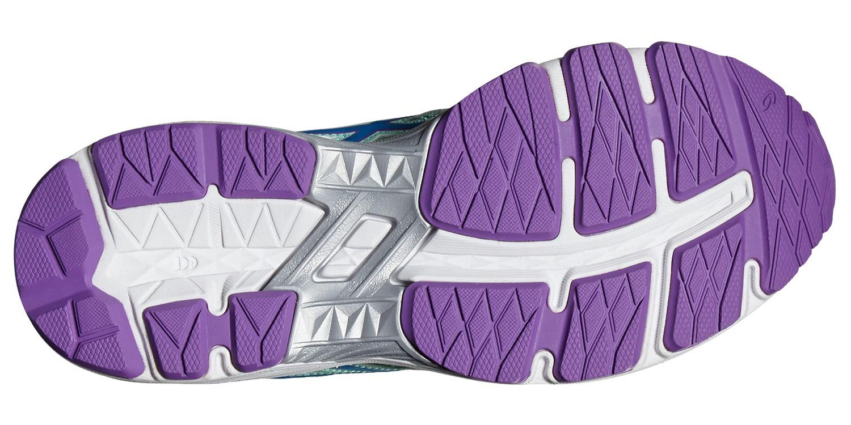 Детские кроссовки для бега Asics GT-1000 5 GS (C619N 6743) бирюзовые - фото, размеры Асикс
