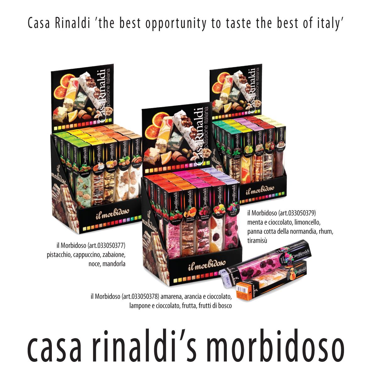 НУГА-ТОРРОНЕ Casa Rinaldi Лесные ягоды моно вкус 100г