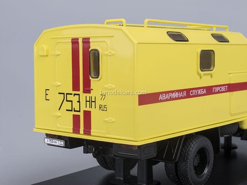 ZIL-130 Emergency Service Gorsvet film Night Watch 1:43 Start Scale Models (SSM)