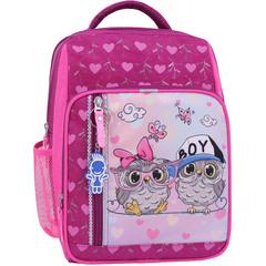 Рюкзак школьный Bagland Школьник 8 л. 143 малиновый 515 (0012870)