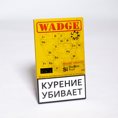 Табак WADGE CARBON 100gr PASSION FRUIT