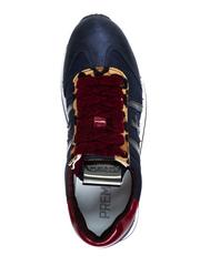Комбинированные кроссовки Premiata Conny 4263 на шнуровке