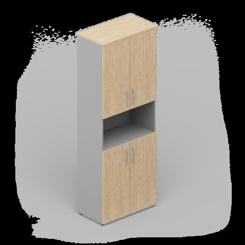 Шкаф комбинированный (4 двери + ниша)
