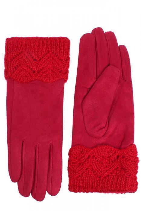 Перчатки_женские Stella 49035 G RED