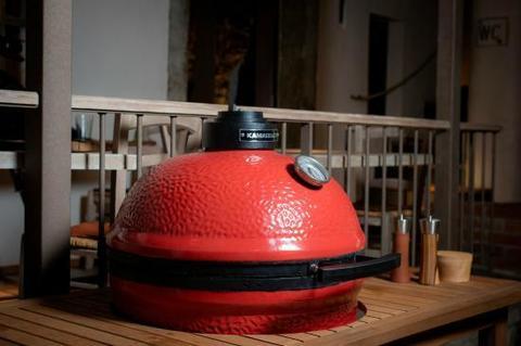 Керамический гриль Kamado Big Joe Red