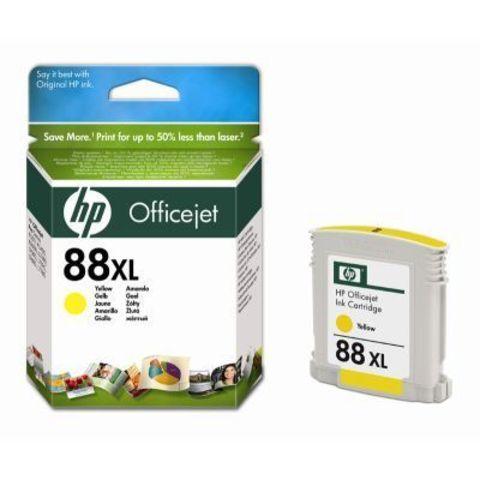 Картридж HP C9393AE (№88XL) yellow - желтый картридж увеличенной ёмкости для Hewlett-Packard OfficeJet Pro K550, K5400,  L7580, L7680, L7780. Ресурс: 1980 стр. Объем 19 ml