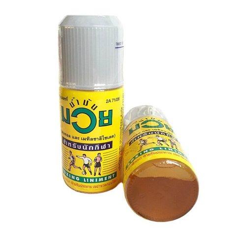 Разогревающее масло NAMMAN MUAY.  30 мл.
