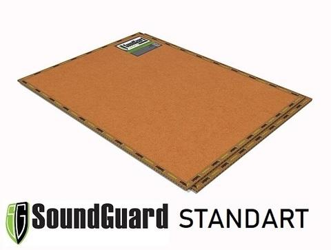 Звукоизоляционная панель SoundGuard Standart 1200x800x12 на основе кварца