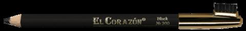 El Corazon карандаш для бровей 300 чёрный