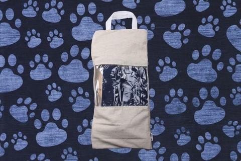 Гамак для кошек и собак премиум темно-синий GK2DJ