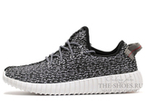 Кроссовки Мужские Adidas Originals Yeezy 350 Boost Black Grey
