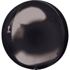 Шар 3D сфера Черная