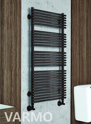 Varmo Black  - черный дизайн полотенцесушитель