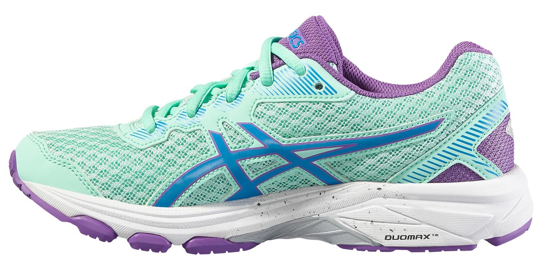 Спортивные кроссовки для девочек Asics GT-1000 5 GS бирюзовые фото