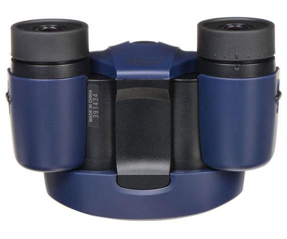 Общий вид бинокля Pentax UP 10x21 в синем цвете