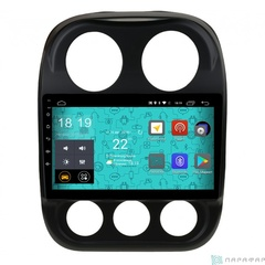Штатная магнитола 4G/LTE Jeep Compass 14+ Android 7.1.1 Parafar PF998