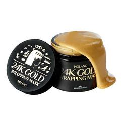 Estetic House Piolang 24K Gold Wrapping Mask - Маска-плёнка для лица с 24 каратным золотом