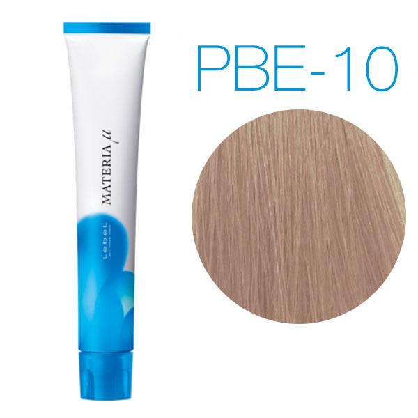 Lebel Materia Lifer PBe-10 (яркий блондин розово-бежевый) - Тонирующая краска для волос