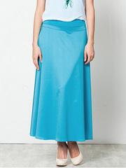 U5147-81 юбка женская, голубая