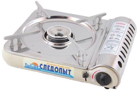 Настольная газовая плита СЛЕДОПЫТ Deluxe (PF-GST-N03)