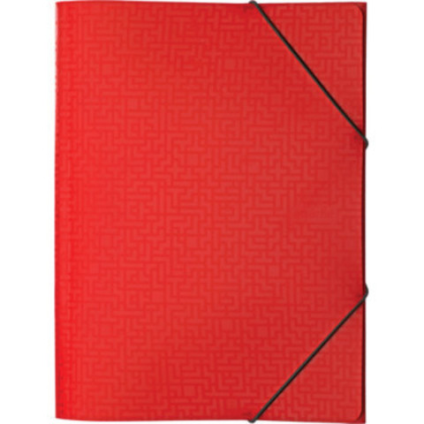 Папка на резинке Attache Confidence красный