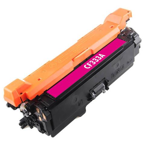 Совместимый картридж CF333A для HP LJ Color Enterprise M651 15K Magenta Gray Box