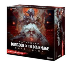 D&D Dungeon of the Mad Mage Adventure System Board Game (Standard Edition)