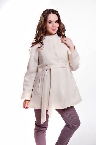 Пальто 05218 белый