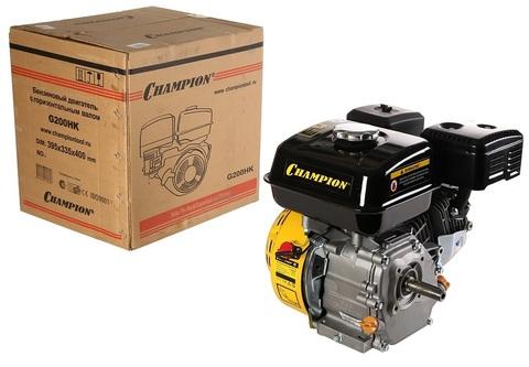 Двигатель бензиновый CHAMPION G200HK (6.5 л.с.)
