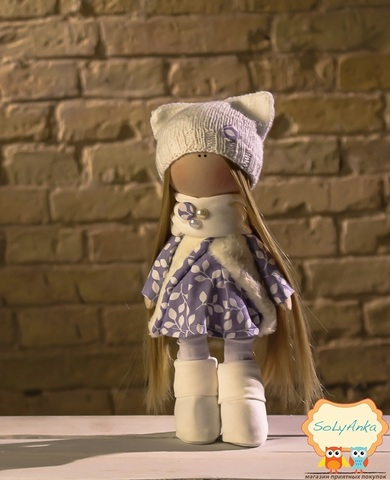 Кукла Нонна из коллекции - Winter doll