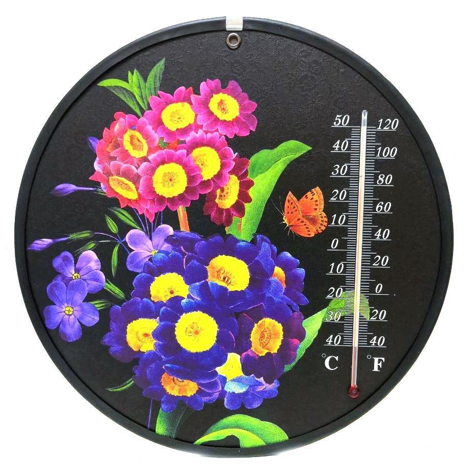 Декоративный круглый комнатный термометр Termometro