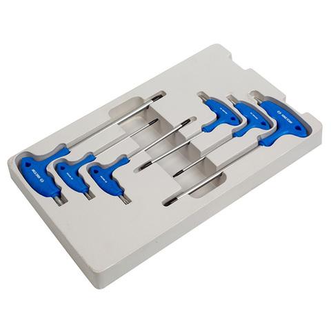 KING TONY (20306PR) Набор Г-образных ключей TORX с отверстием, T10-T40, 6 предметов