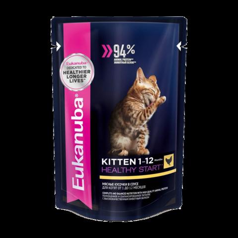 Eukanuba Kitten Healthy Start Консервы для котят