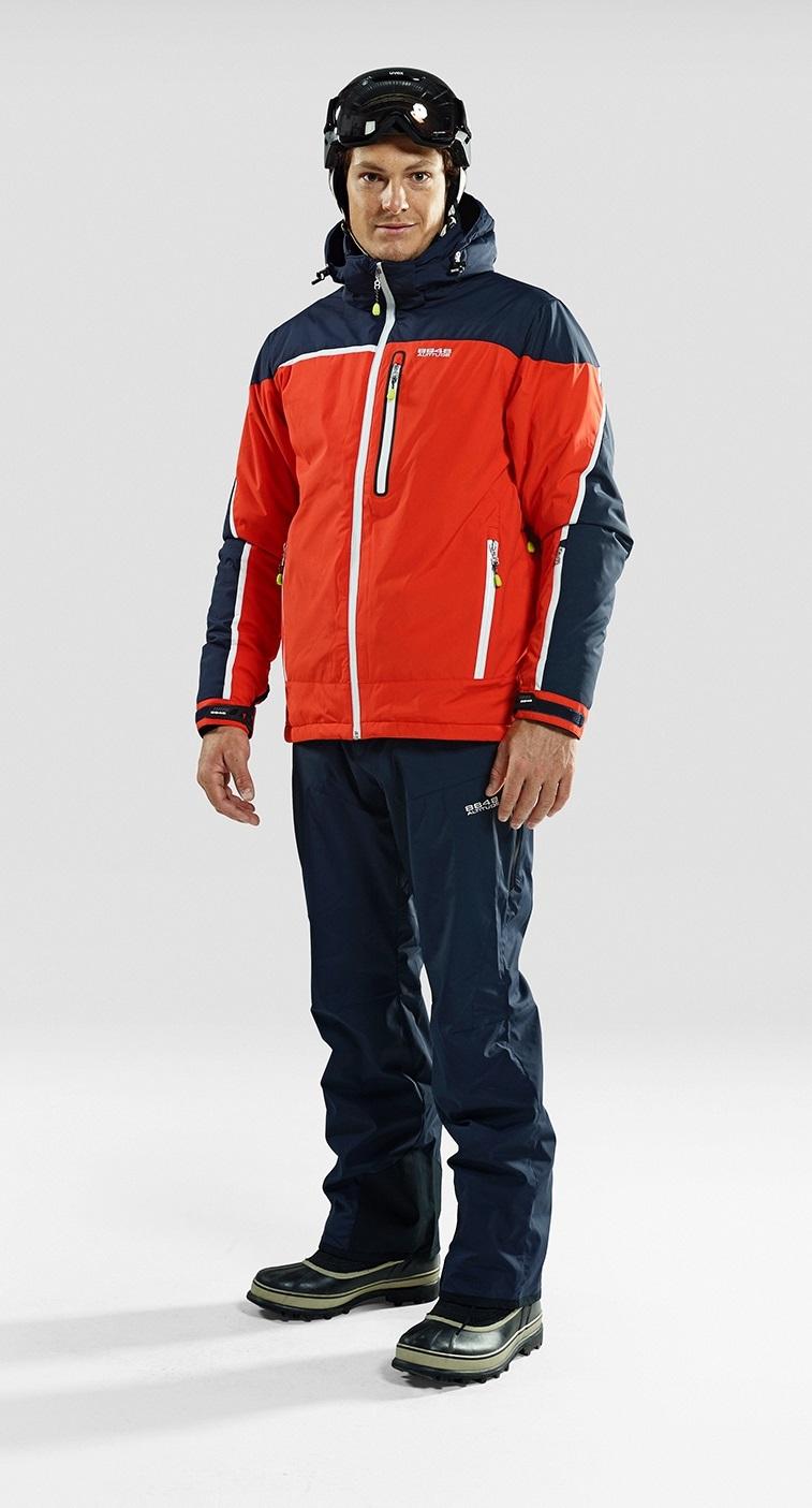 Мужской горнолыжный костюм 8848 Altitude Iron/Guard (7018G1-702915) модель