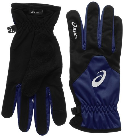 Перчатки для бега Asics Winter Gloves (синие) унисекс