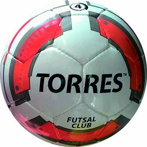 Мяч для мини-футбола, футзальный TORRES Futsal Club № 4