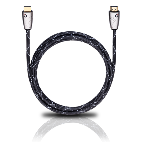 Oehlbach Easy Connect Steel HDMI 0.75m, HDMI кабель