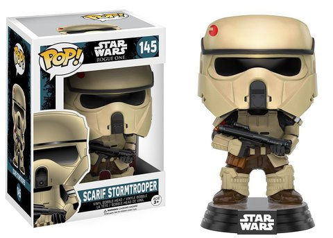 Фигурка Funko POP! Bobble: Star Wars: Rogue One: Scarif Stormtrooper 10460