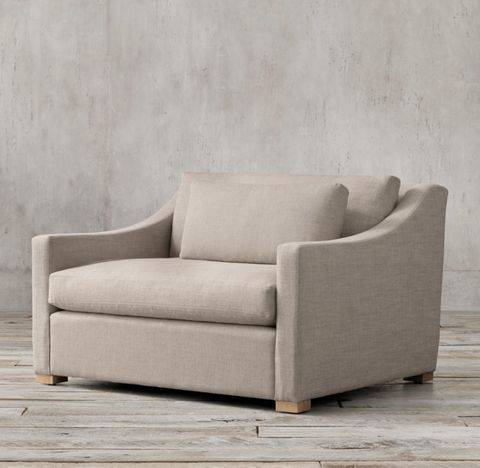 Belgian Classic Slope Arm Chair-and-a-Half