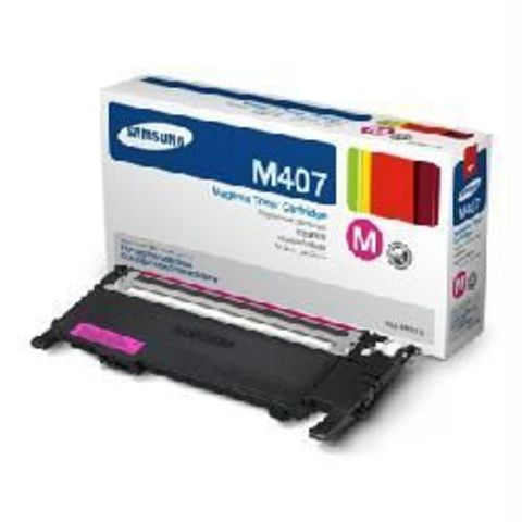 Картридж пурпурный Samsung CLT-M407S для Samsung CLP-320, CLP-320n, CLP-325, CLX-3185, CLX-3185N, CLX-3185FN (Ресурс 1000 стр.)