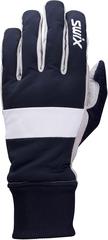 Перчатки лыжные Swix Cross темно-синий