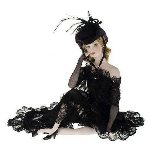 Кукла фарфоровая коллекционная Marigio Lara