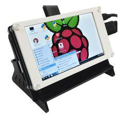 """Цветной графический TFT-экран с тачем 800×480 / 5,0"""""""