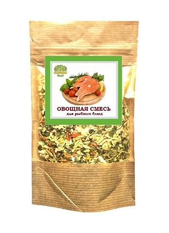 Овощная смесь для рыбных блюд 'Organic food', 100г