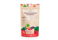 Здоровый фруктовый перекус из экзотического ассорти, 20г