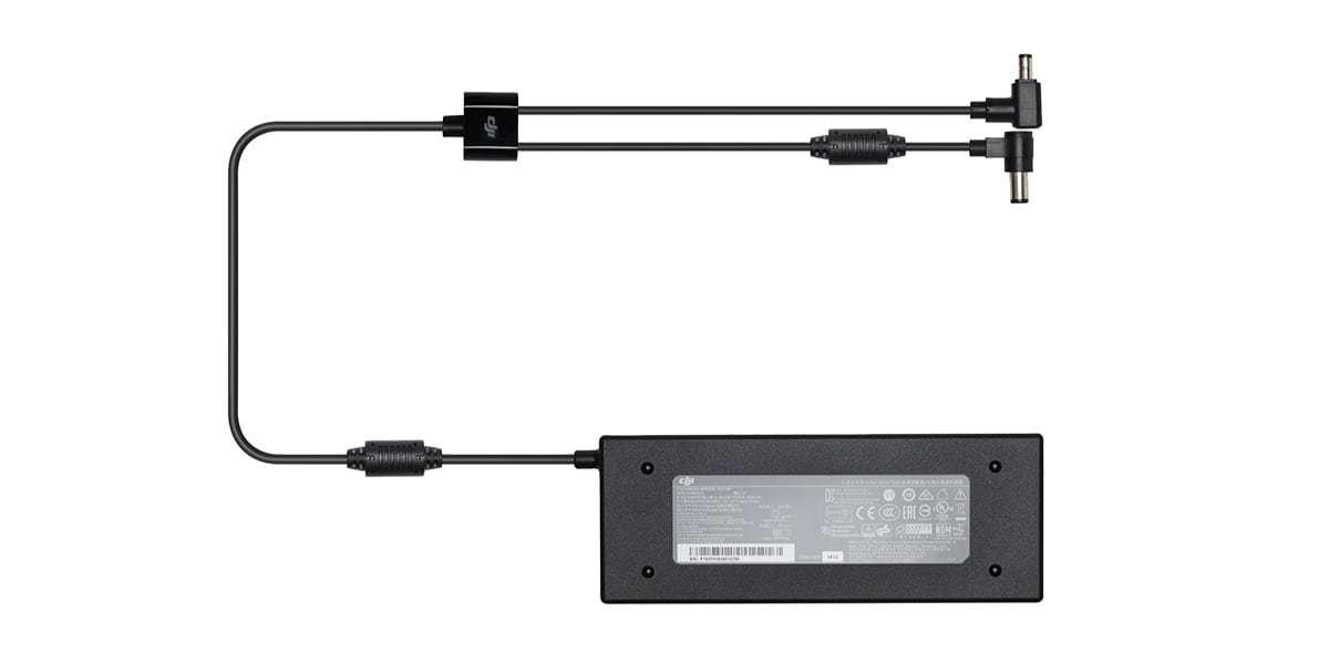 Сетевой адаптер DJI Inspire 2 180W Power Adaptor (standard version) (without AC cable) (PART16) вид сверху
