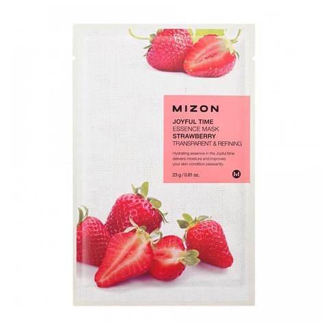Mizon Joyful Тканевая маска для лица с экстрактом земляники 23г