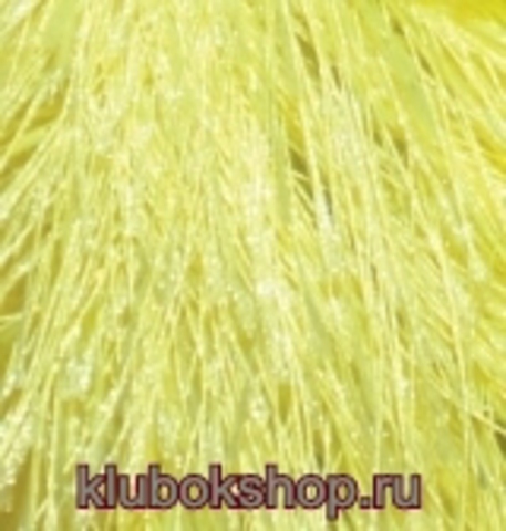 Пряжа Decofur (Alize) 552 Желтый неон, фото